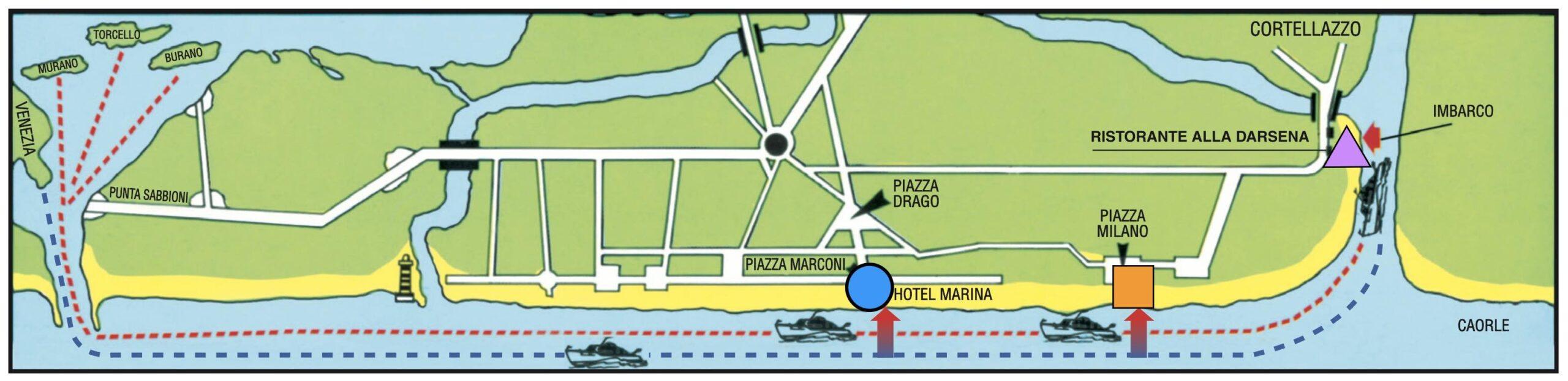 Escursioni Venezia motonave Moby Dick